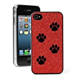 Red Apple iPhone 4 4S 4G Glitter