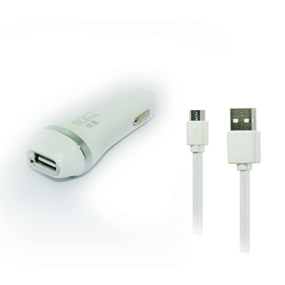 Amazon.com: Auto Android Micro USB Car Charger and Cable ...