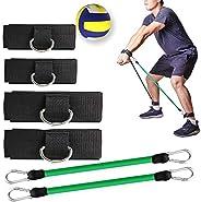 KIKIGOAL Volleyball Training Pass Rite Aid Resistance Band, Elastic Volleyball Resistance Belt Set for for Agi