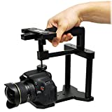 Opteka X-GRIP EX PRO Metal Video Action Stabilizing Handle for Digital SLR Cameras and Video Camcorders
