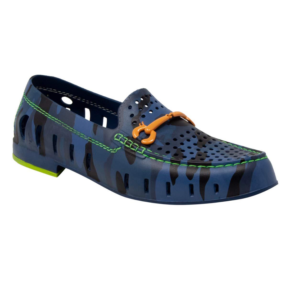 Floafers Chairman Bit (11, Blue Camo/Lime Green)