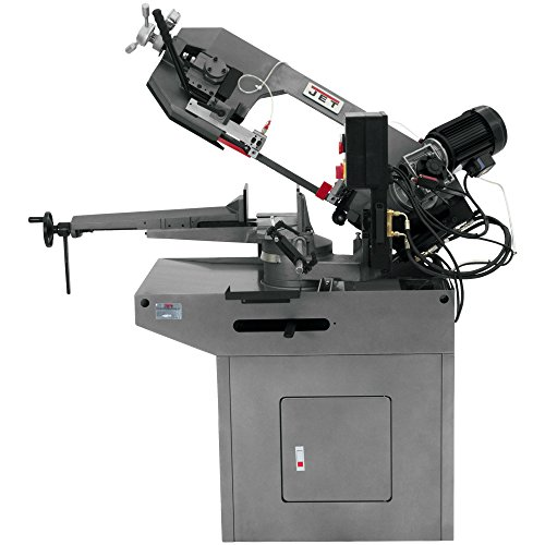 JET J-9225 8-3/4-Inch 1.5-Horsepower 230-Volt Three Phase Zip Miter Horizontal Bandsaw 1 Phase Horizontal Band Saw