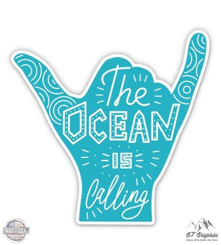 Surfer Sticker - The Ocean is Calling - 3