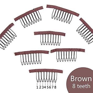 Lot 8 pcs hair combs Item choose color  .