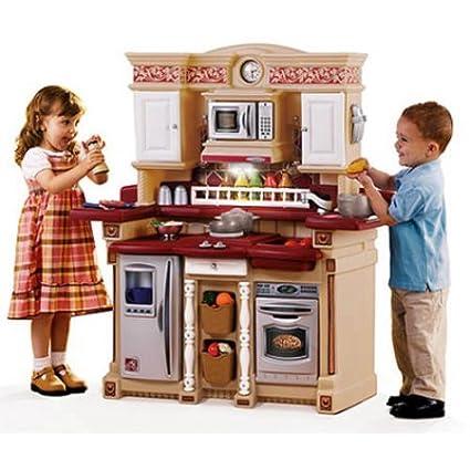 Kids Pretend Play Kitchen Playset Playhouse Cooking Fun 33 Accessories  Children Indoor Boys Girls NEW