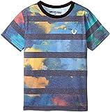 True Religion Boys Cloud Nine Tee Shirt, Black, 3T