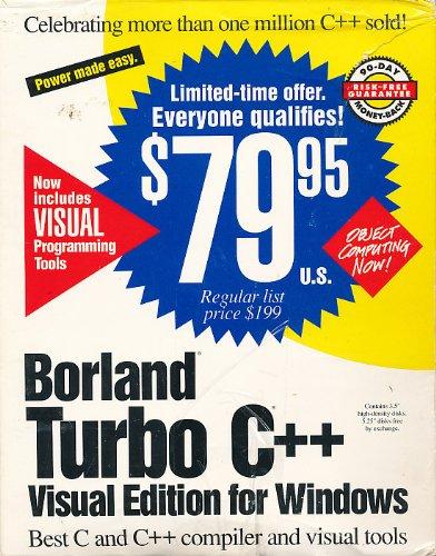 Borland Turbo C++ 3.1/3.0 Visual Edition for Windows V-3.1 (5-