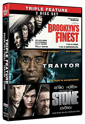 DVD : Brooklyn's Finest / Traitor / Stone (Boxed Set, 3 Disc)