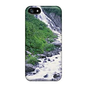 NZuGkgl3138ruIop Seasonal Waterfall In Chugach Mountains Alaska Awesome High Quality Iphone 5/5s Case Skin by Maris's Diary