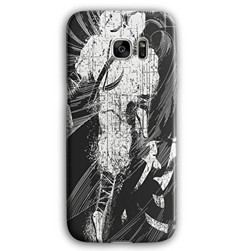 [Asian Ninja Warrior Battle Kick NEW Black 3D Samsung Galaxy S7 Edge Case | Wellcoda] (3 Ninjas Kick Back Costume)