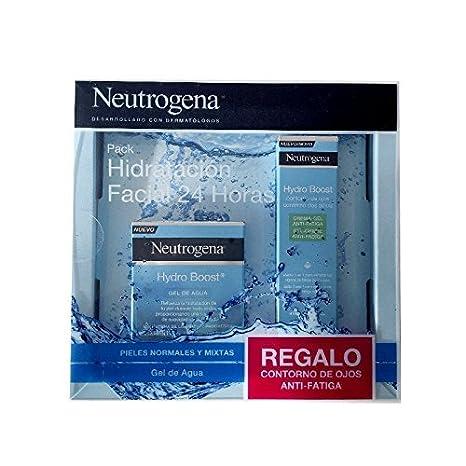 Neutrogena Pack Hidratación Facial 24 Horas (Gel Hydro Boost Y Contorno De Ojos Anti-Fatiga)