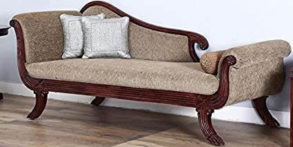Décor Savvy Antique Indian Ethnic Designed Sofa, Couch Cum Divan In  Rosewood Finish For Living