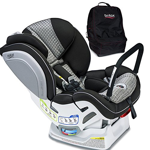 Britax Advocate ClickTight ARB Convertible Car Seat, Venti with Travel Bag Set