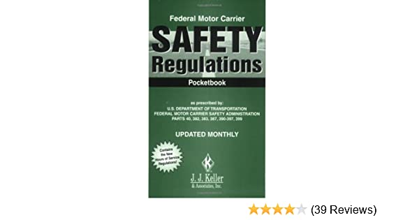 Amazon federal motor carrier safety regulations pocketbook amazon federal motor carrier safety regulations pocketbook 7orsa 9780934674287 j j keller associates inc books fandeluxe Image collections