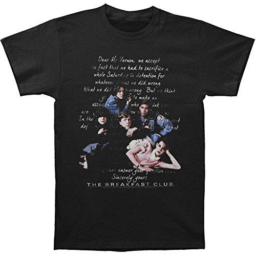 Breakfast Club Men's Letter T-shirt Large Black