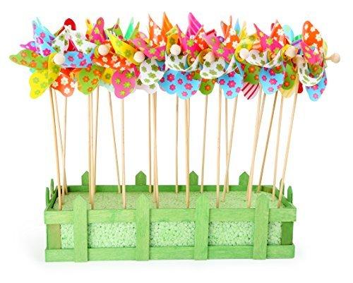 Flyinghedwig Espositore Display Girandole variopinte Colorate 24 Pezzi
