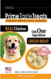 Prime Taste Treats Real Chicken Freeze Dried Treats, 6.2-Ounce Bags (Pack of 2), My Pet Supplies