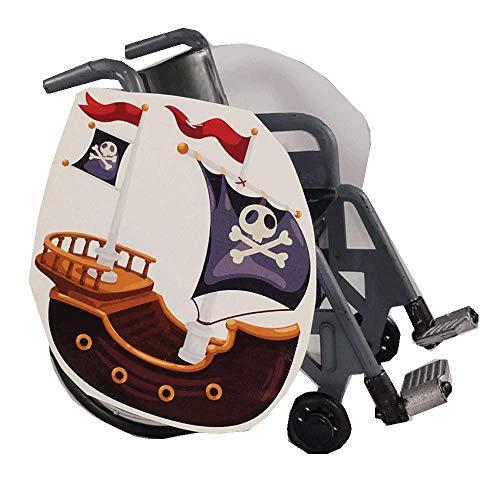 Pirate Ship Wheelchair Costume Child's ()