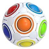 Buself Rainbow Magic Ball, Educational Magic Ball with Fashion Design and Vivid Colours