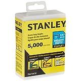 STANLEY TRA704-5C 5000 Units 1/4-Inch Heavy Duty Staples