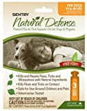 Dog Supplies Natural Defense Flea and Tick Squeeze On Dog, My Pet Supplies