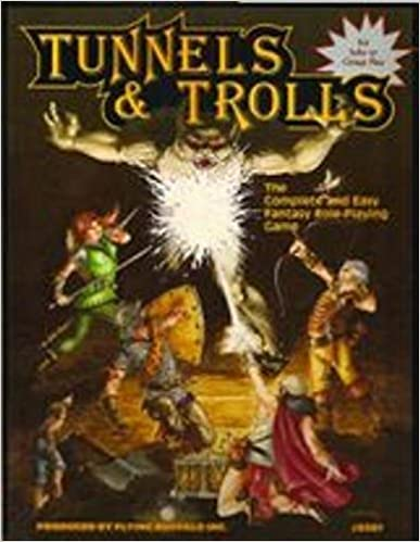 Book Tunnels and Trolls by Ken St. Andre (1991-09-03)