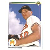 1990 Upper Deck # 54 Ben McDonald Baltimore Orioles Baseball Card