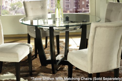 Round Glass Dining Table 48 Inches: 48 Inch Glass Dining Table