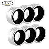 Gaosaili Stainless Steel Wine Drip Rings Wine Bottle Collar Pack of 6