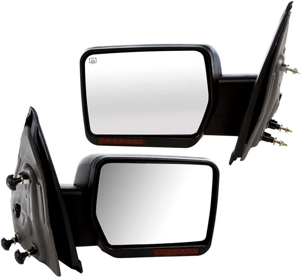 Prime Choice Auto Parts KAPFO1320349PR Front Pair of Power Heated Side Mirrors