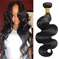 Brazilian Body Wave Hair, 8A Unprocessed Body Wave Human Hair 1 Bundle, Virgin Hair...