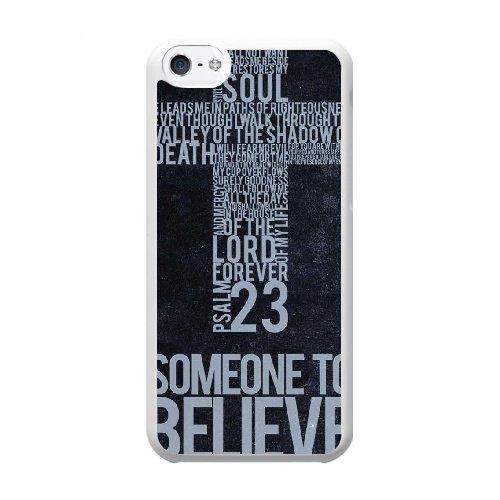 Coque,Coque iphone 5C Case Coque, Christian Cover For Coque iphone 5C Cell Phone Case Cover blanc