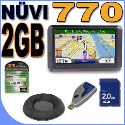 [Garmin Nuvi 770 Portable GPS Vehicle Navigation System w/ 4.3