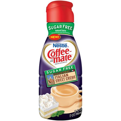 COFFEEMATE Hazelnut Sugar Free Liquid Coffee Creamer 32 oz ...