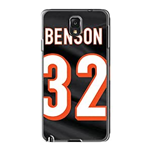 Scratch Protection Hard Phone Covers For Samsung Galaxy Note 3 With Provide Private Custom Beautiful Cincinnati Bengals Series MarcClements