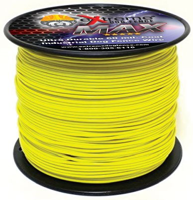 Maximum Performance Dog Fence Wire - 1000 Ft. 14 Gauge Wire with Ultra Thick 60 Mil Polyethylene Protective Jacket - Designed for Max Life Reliability and Low Signal Loss - Universal Compatible by Extreme Dog Fence (Image #3)