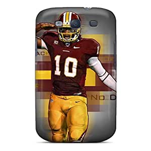 GoR7321FffT Tpu Phone Cases With Fashionable Look For Galaxy S3 - Washington Redskins