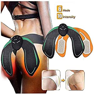 Butt Hips Trainer 2019 Upgrade Muscle Toner Fitness Training Gear Home Office Ab Trainer Workout Equipment Machine Fitness for Women Men 51ZZiUatjBL
