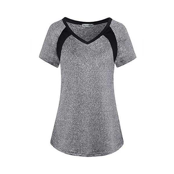 MISS FORTUNE Womens Yoga Tops Active Wear Dri Fit Shirts Workout Clothes