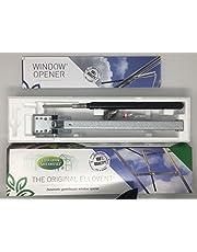 El Original elloventtm automático abridor de ventana de invernadero, 'ajustable techo Vent, funciona con energía solar, por Elloughton Greenhouses®