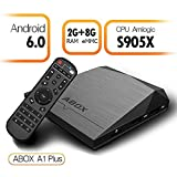 2017 Model ABOX A1 Plus Android 6.0 TV Box with Amlogic S905X 64 Bits 2GB RAM 8GB ROM and True ...