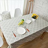 Interestlee Satin drill Tablecloth?Camper You Make Me Happy Camper Motivational Quote with Caravans Retro Style Travel Graphic Multi Dining Room Kitchen Rectangular Table Cover Home Decor
