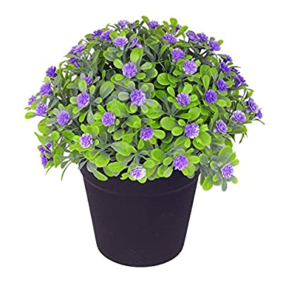 VGIA Small Artificial Plants for Home Decor