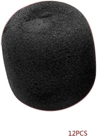 Floridivy 12 Pcs Microphones Sponge Covers Windscreens
