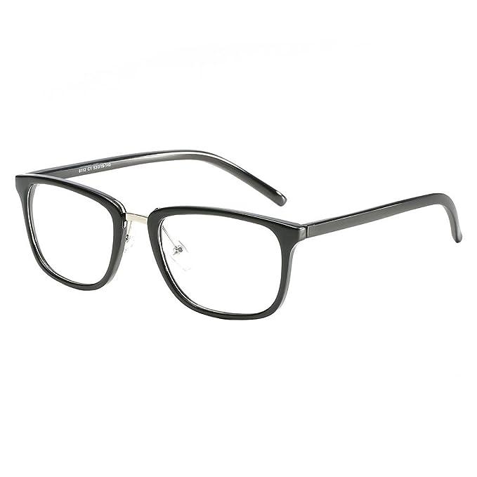 Kinder lesen flaches Spiegel Myopie Brille Licht Gewicht Brillengestell Sonnenbr cujaAj