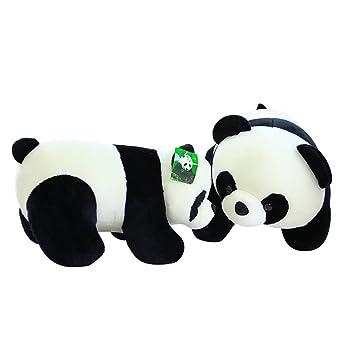 Amazon Com Cute Plush Stuffed Animal Doll Push Pull Panda Bear