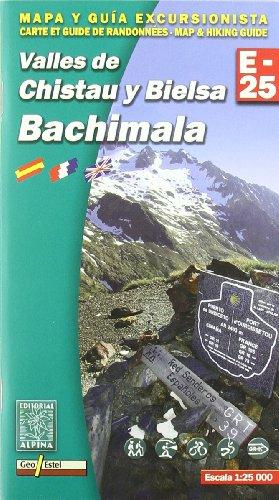 Descargar Libro Valles De Chistau Y Bielsa. Bachimala, Mapa Excursionista. Escala 1:25.000. Español, Français, English. Alpina Editorial. Vv.aa.