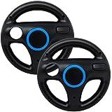Mario Kart Wii Steering Wheels, PlayHard 2 Pack Mario Kart Wii Racing Wheels Compatible with Nintendo Wii, Wii U Racing…