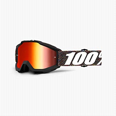 100% Accuri Boy's Off-Road Goggles - Krick/Clear Lens/One Size