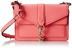 Rebecca Minkoff Hudson Moto Mini Cross Body Bag, Watermelon, One Size